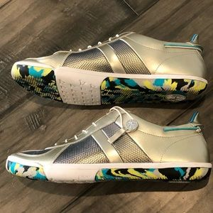 Plae Sneakers in Rare Silver - Size 11.5